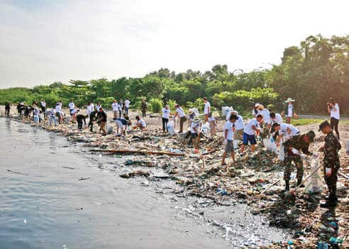 Cleaning the Coast
