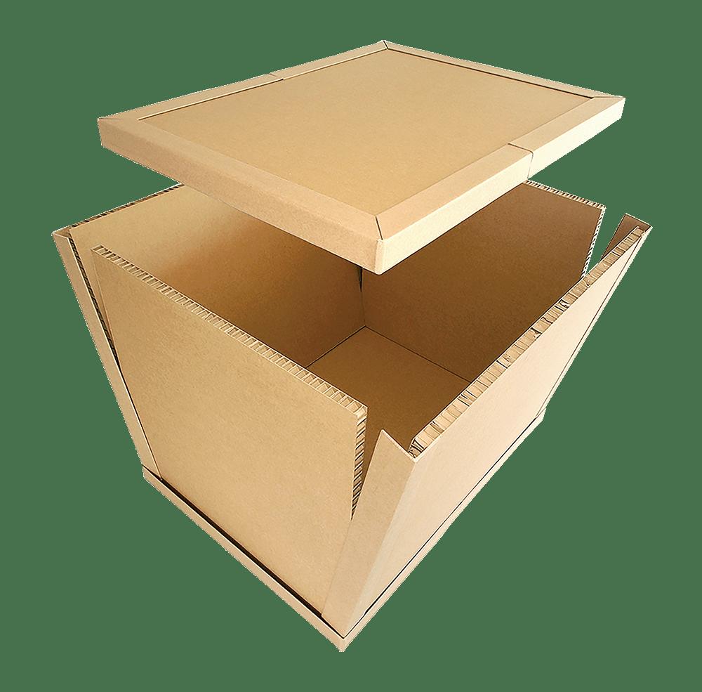 The Box - kierrätettä kuljetuslaatikko