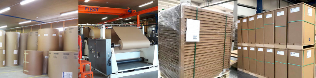 Raw materials produce high quality carton based packaging