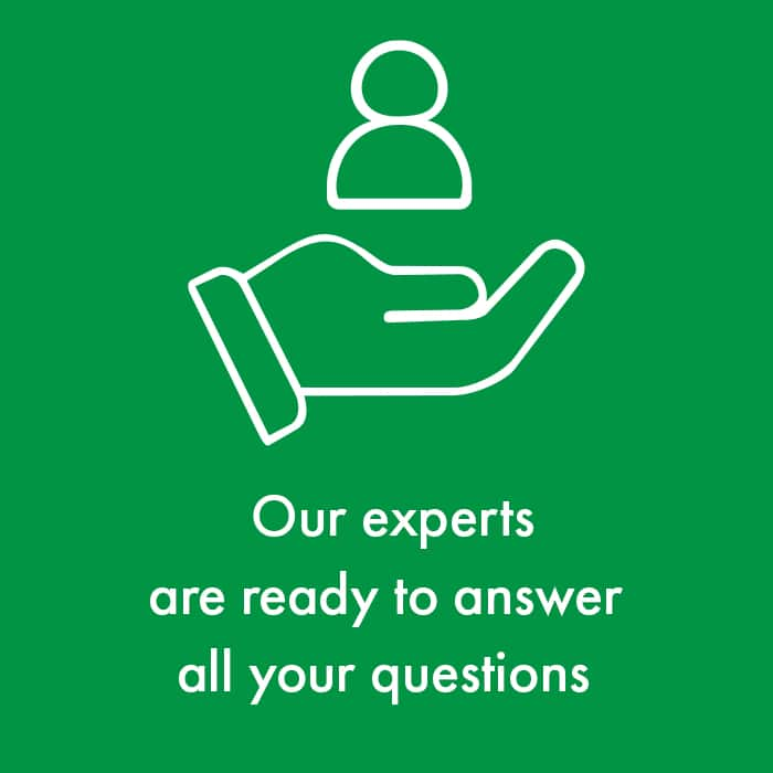 Eltete experts ready to answer all questions