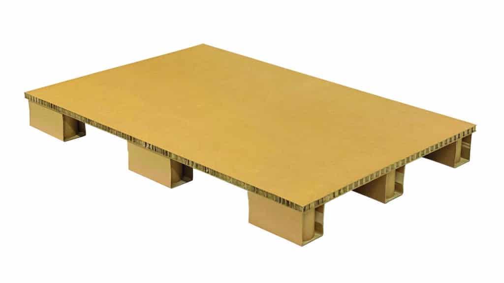 carton pallet-alternative to wooden pallet