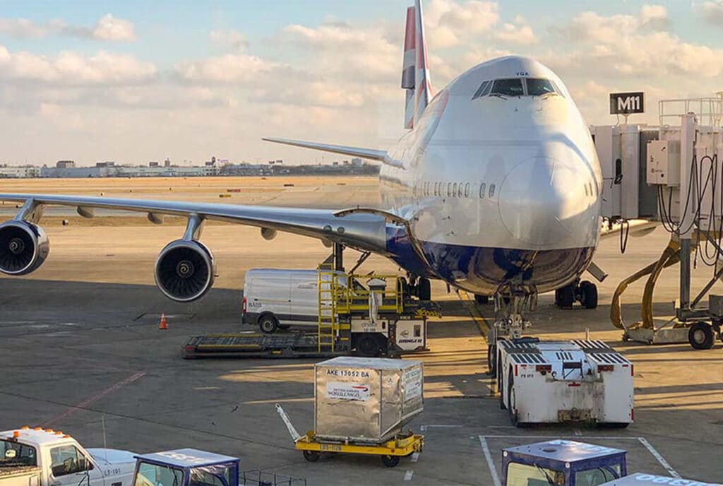 Air cargo industry and Eltete TPM solutions