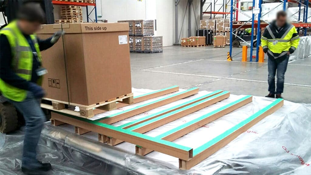 Eltete runner tested in air cargo industry