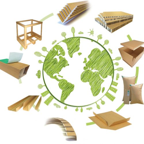 Biodegradable transport packaging solutions